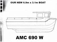 AMC 690 W with Lantern Style Wheelhouse